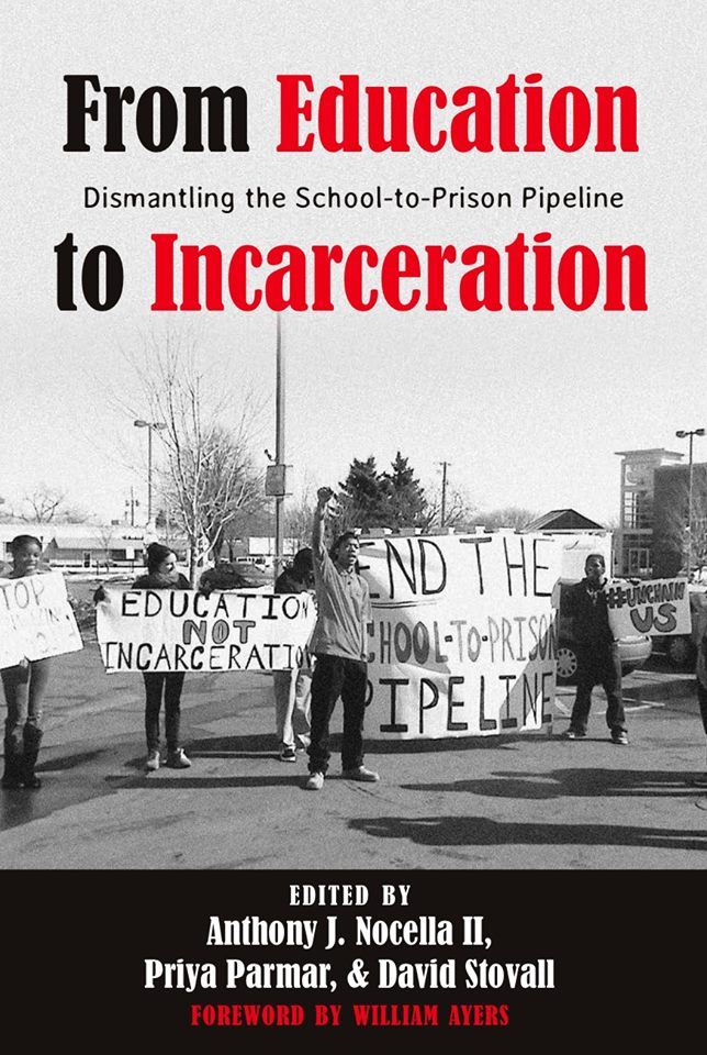 "STK is in ""From Education to Incarceration: Dismantling the School to Prison Pipeline"" book"