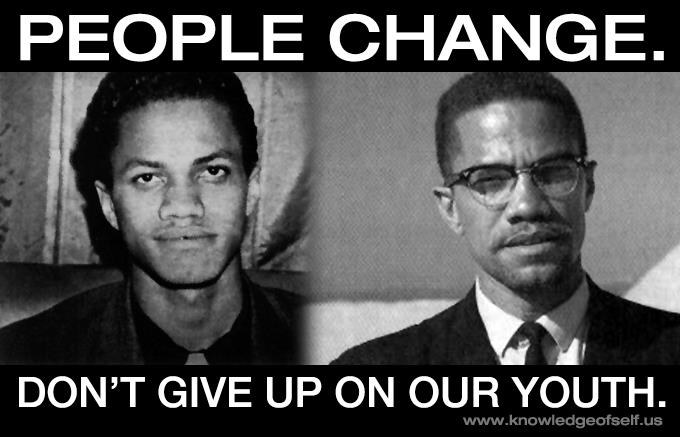 People Change – Malcolm X