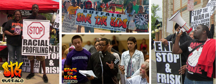 NY Press Conferences and Rallies Against Stop and Frisk