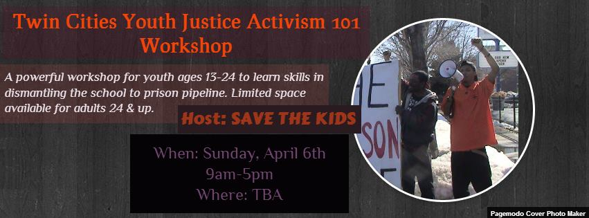 101 youth justice workshop