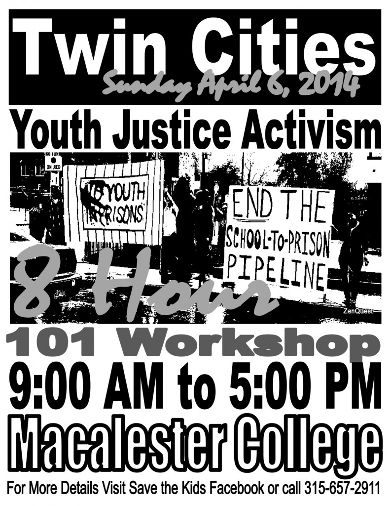 Youth Justice 101 Workshop