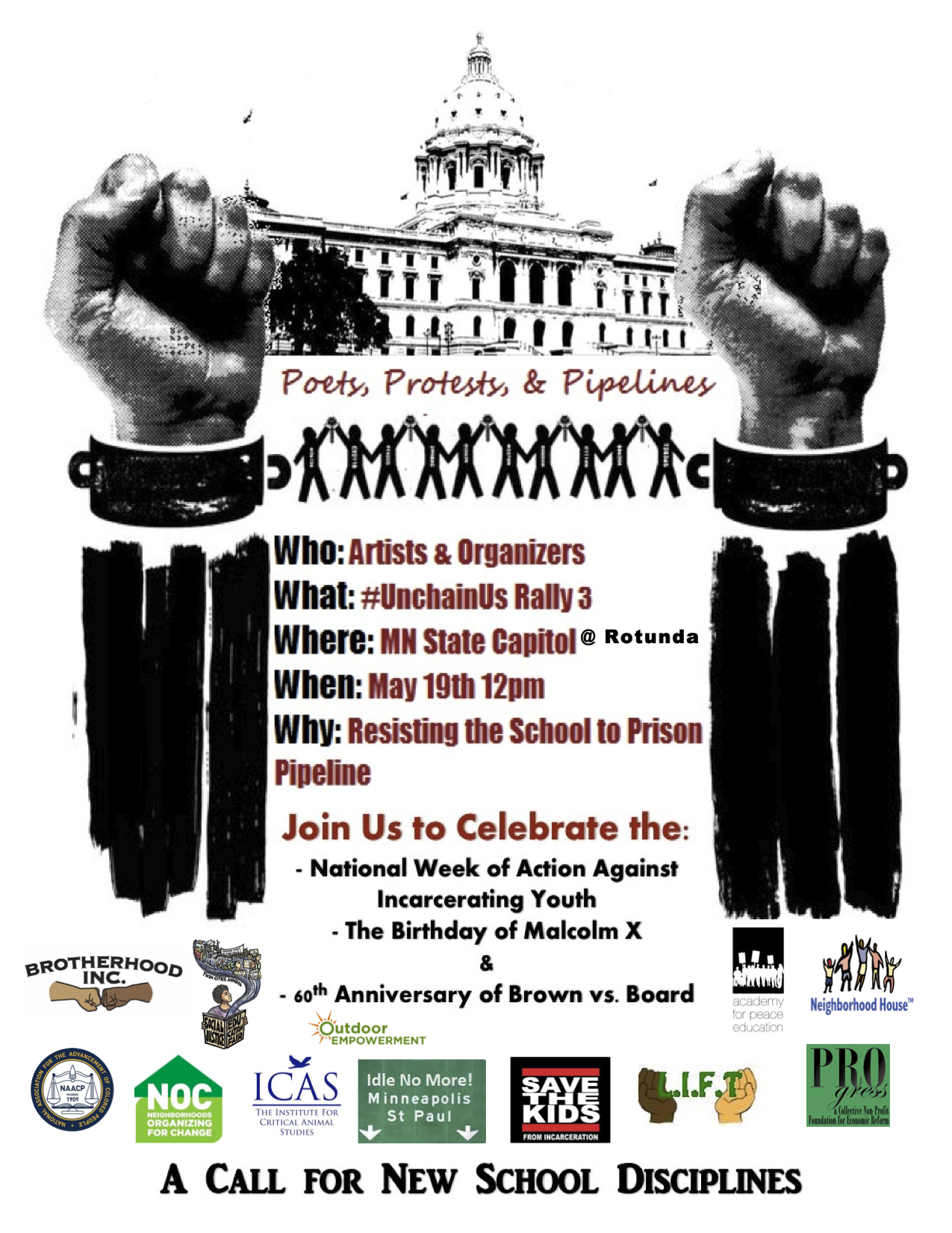 May 19 Twin Cities – Rally at the State Capitol