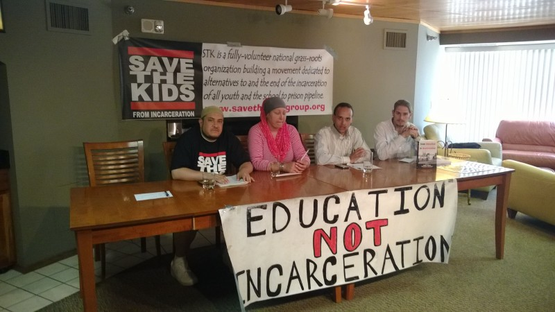 Save the Kids Presents at the 2014 International Conference on Penal Abolition (ICOPA)