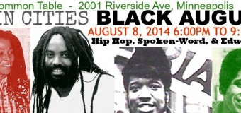 Twin Cities Black August – Hip Hop, Spoken-Word and Education