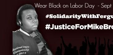 wear black on labor day