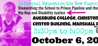 Is Special Education the New Eugenics? Dismantling the School to Prison Pipeline and the Rise of Hip Hop and Disability Justice