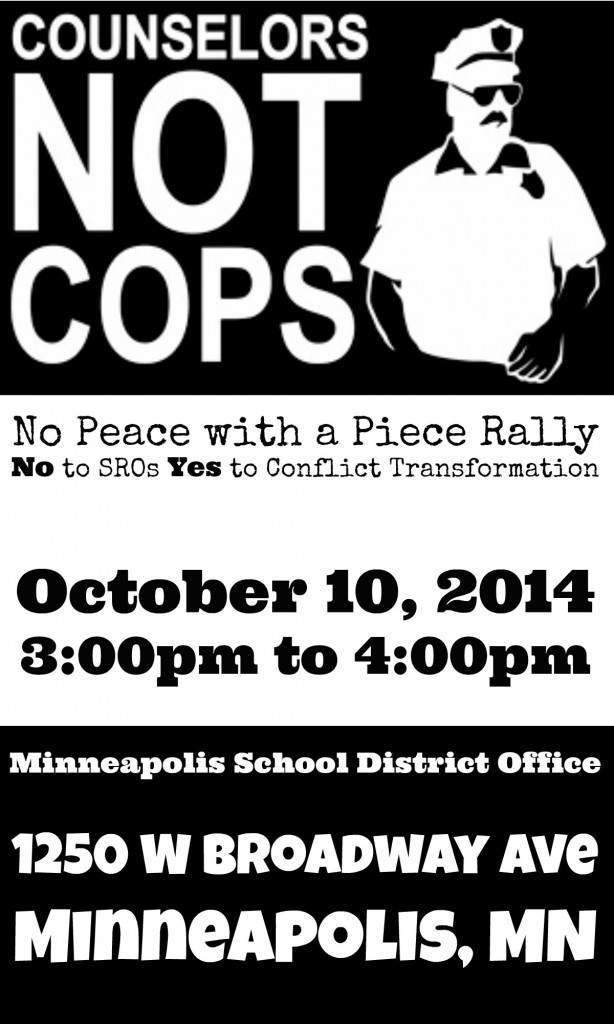 No Peace with a Piece Rally