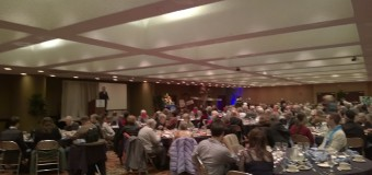 Save the Kids with Anthony Nocella speaks at the Western New York Peace Center Annual Dinner