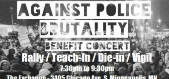 Twin Cities Hip Hop Against Police Brutality Benefit Concert & Vigil and Die-In