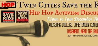 Dec. 28, 2015 – Twin Cities Hip Hop Activism Discussion