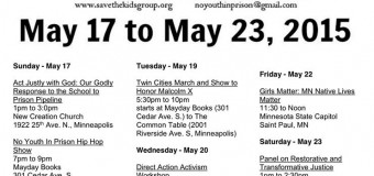 2015 Twin Cities STK National Week of Action Flyer