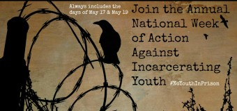 National Week of Action Against Incarcerating Youth