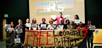 Leonard Peltier Forum Co-organized by Durango Save the Kids February 27, 2016