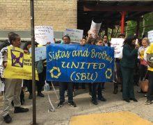 May 18 Sistas & Brothas United in Bronx New York Organize Rally