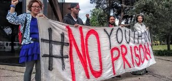 May 16, 2016 Twin Cities Save the Kids Organized a No Youth In Prison Protest at the  Minneapolis American Indian Center