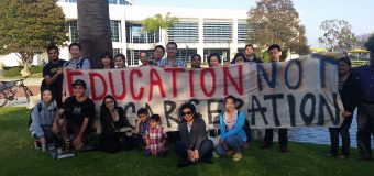 May 17 Cypress Community College in Los Angeles, CA students organize Protest for NWAAIY