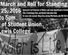 Sept 25, 2016 – Rally and March/Roll for Standing Rock – Durango, Colorado