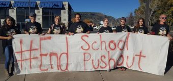 Oct 20, 2016 End School Pushout in Durango, Colorado
