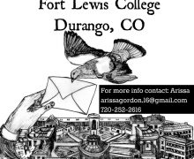 Tuesdays – Prison Letter Writing at Fort Lewis College, Durango, CO