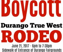 Durango Save The Kids Sponsoring Boycott Durango True West Rodeo