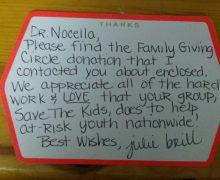 "Julie Brill & Family ""Thanks"""
