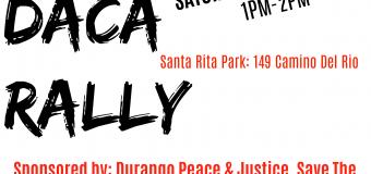 9/9/17 Durango, CO – Defend Daca Rally