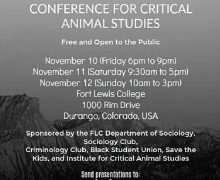 2017 16th Annual Conference for Critical Animal Studies
