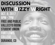 10/8/17 Durango, CO – Dizzy Wright @ Fort Lewis College