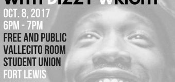 10/8/17 Durango, CO – Dizzy Wright @ Fort Lewis College