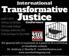 2018 3rd Annual International Transformative Justice Conference