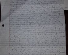 Letter from Trevor Brown