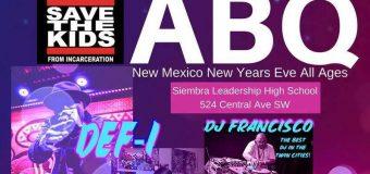Albuquerque New Years Eve Hip Hop Show 2017