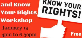 Jan 19 2018 – Durango, CO – Activism, Protest and Know Your Rights Workshop