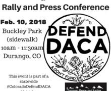 Feb 10, 2018 – Defend DACA Rally in Durango, CO