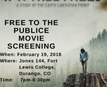 Free and Public Screening of If a Free Falls at Fort Lewis College