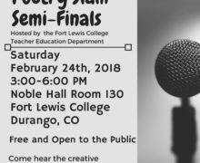Feb 24 – 1st Annual Durango Youth Poetry Slam