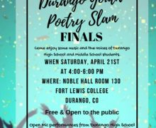 Durango 1st Annual Youth Poetry Slam Finals