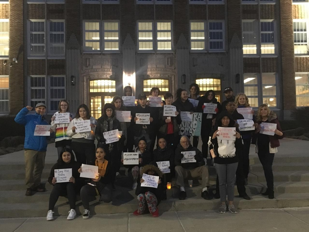 Feb. 26, 2019 – Salt Lake Vigil for Trayvon Martin