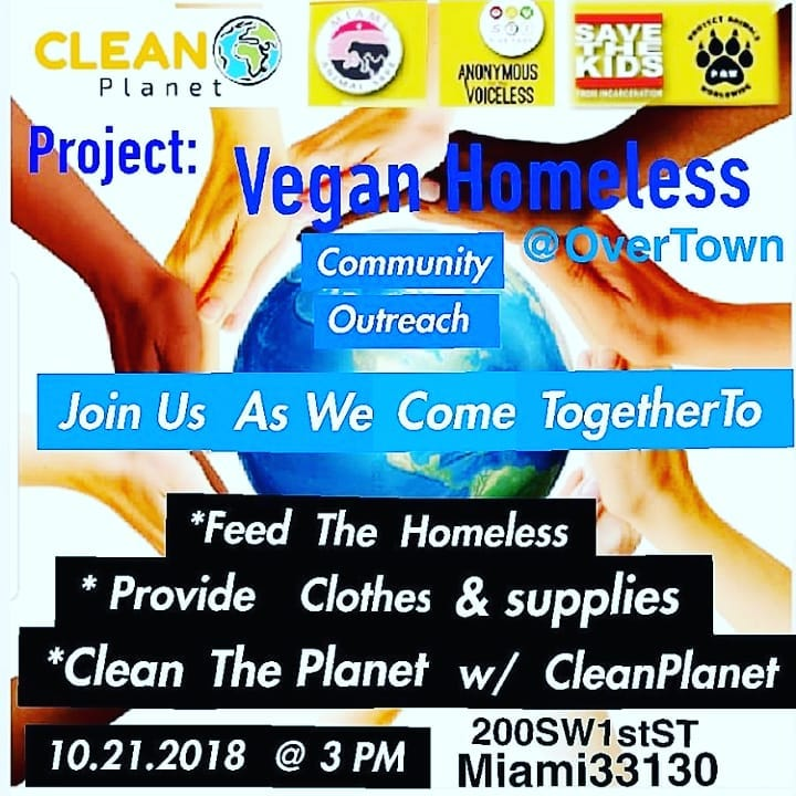 Miami, FL – Vegan Homeless Outreach