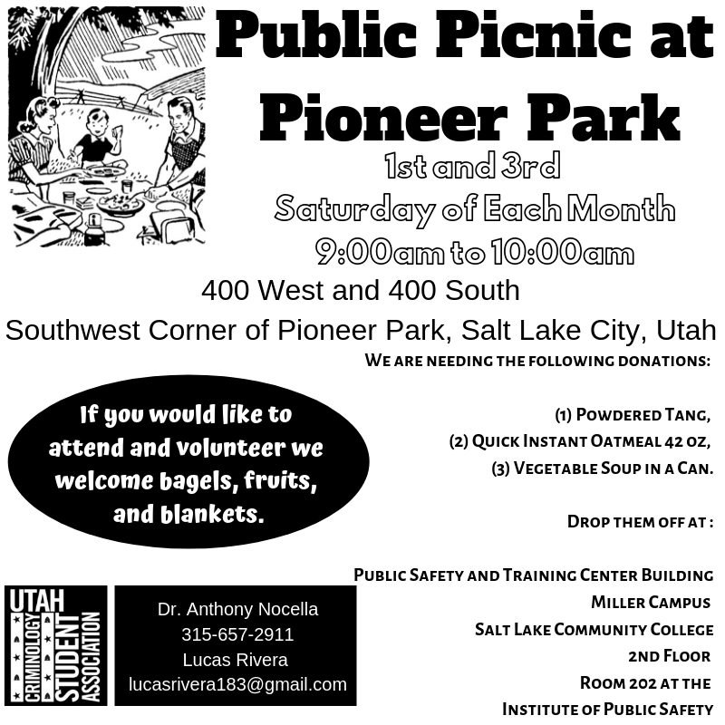Salt Lake City, UT – Picnic at Pioneer Park