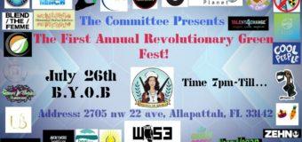 Save the Kids Miami – Revolutionary Green Fest! – 7/29/19