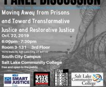 Salt Lake STK – Panel Discussion on Transformative and Restorative Justice October 22, 2019