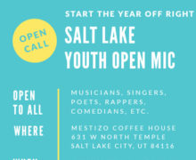 Salt Lake Youth Open Mic