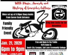 Salt Lake, Utah – Winter Lowrider Bicycle Show and History of Lowriders