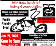 Salt Lake, Utah – Winter Lowrider Bicycle Show and History of Lowriders
