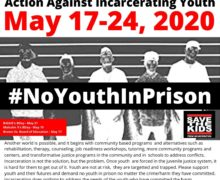 8th Annual National Week of Action Against Incarcerating Youth