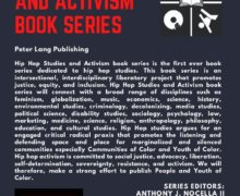 Hip Hop Studies and Activism Book Series Flyer