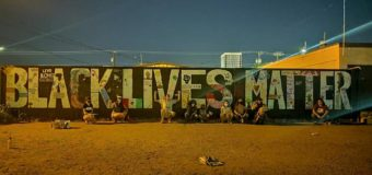 South Save the Kids Made Black Lives Matter Wall