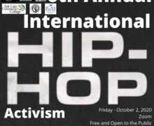October 2, 2020 – Free Online – 6th Annual International Hip Hop Activism Conference