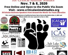 Save the Kids Co-Sponsors the 20th Annual North American Conference for Critical Animal Studies